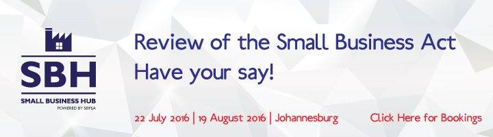 Review of the Small Business Act, have your say!